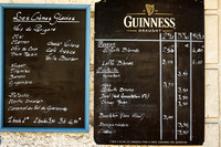 Bar Prices - Bourdeilles
