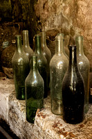 Old Bottles - Bourdeilles