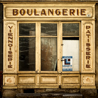 Closed Bakery - La Rochebeaucourt