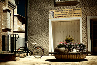 Bicycle, Plumber's Shop and Civic Flowers- St Astier