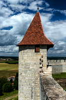 Turret at the Chateau - Villebois-Lavalette