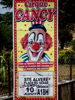 Circus Advert - Sainte-Alvère